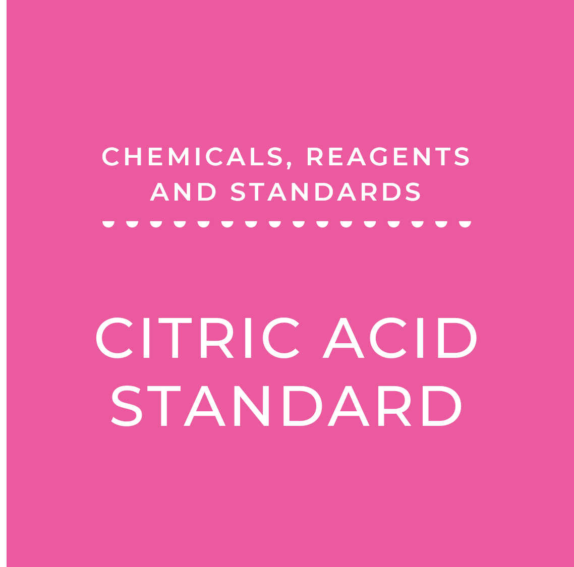 Citric Acid Standard, 200 mg/100 mL