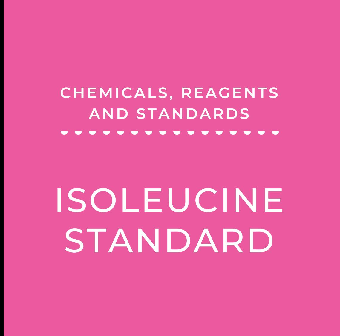 Isoleucine Standard, 10mM