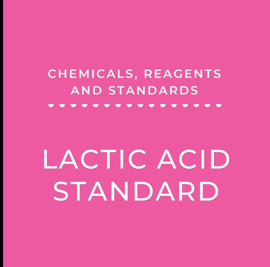 Lactic Acid Standard, 200 mg/100 mL