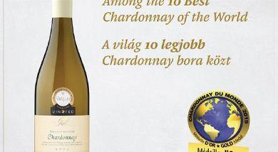 Magyar bor a világ tíz legjobb Chardonnay-ja között