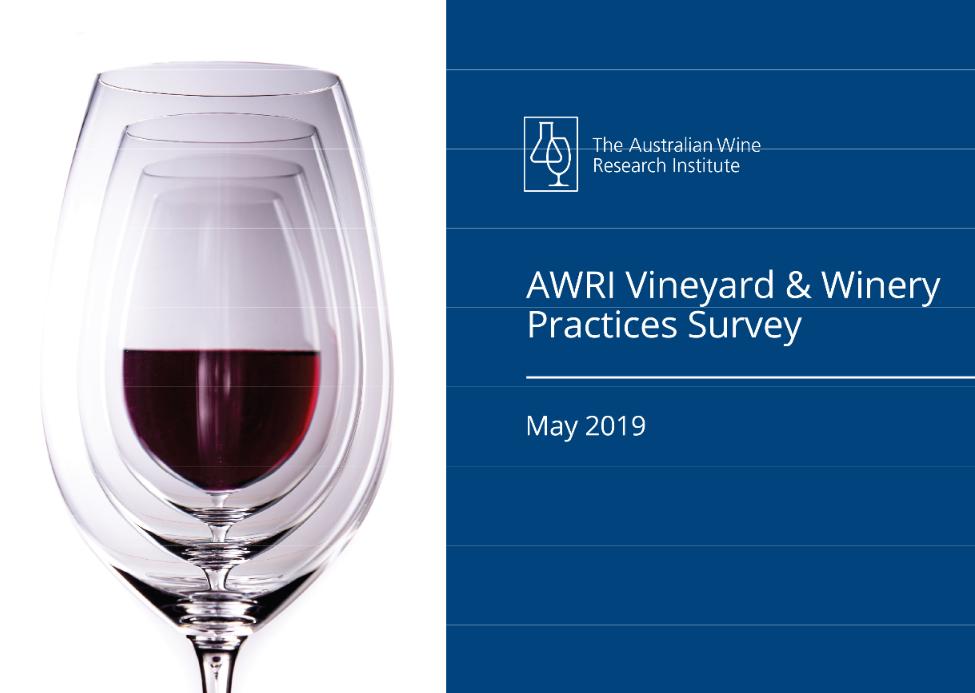 AWRI vineyard and winery practices report