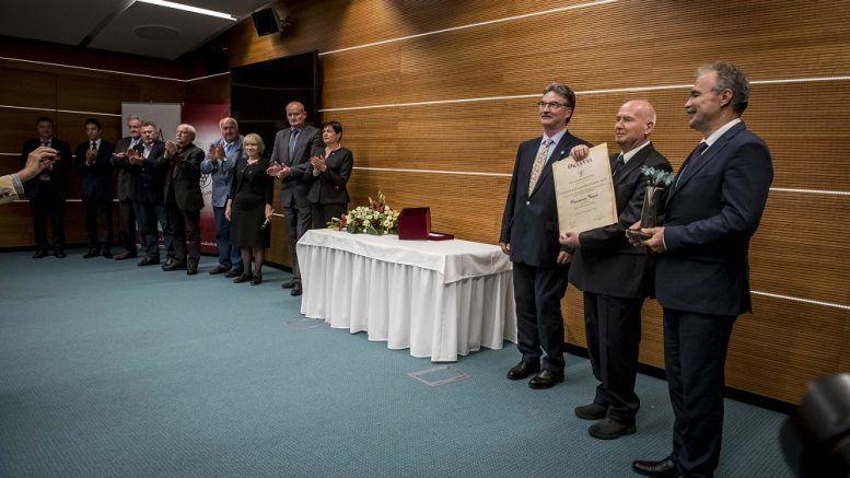 Garamvári Vencel won the Lifetime Achievement Award
