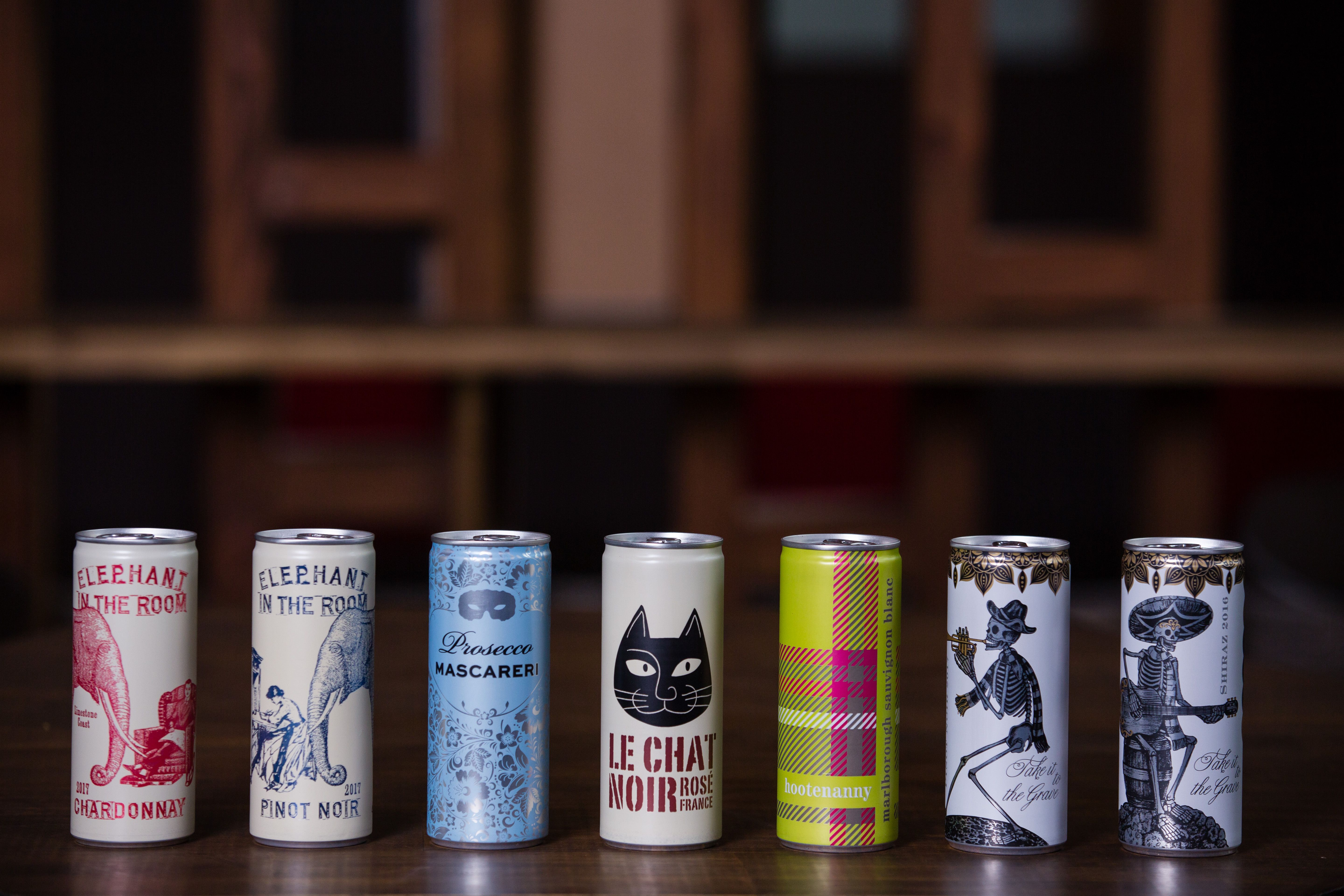 Making wine for cans: what you need to know