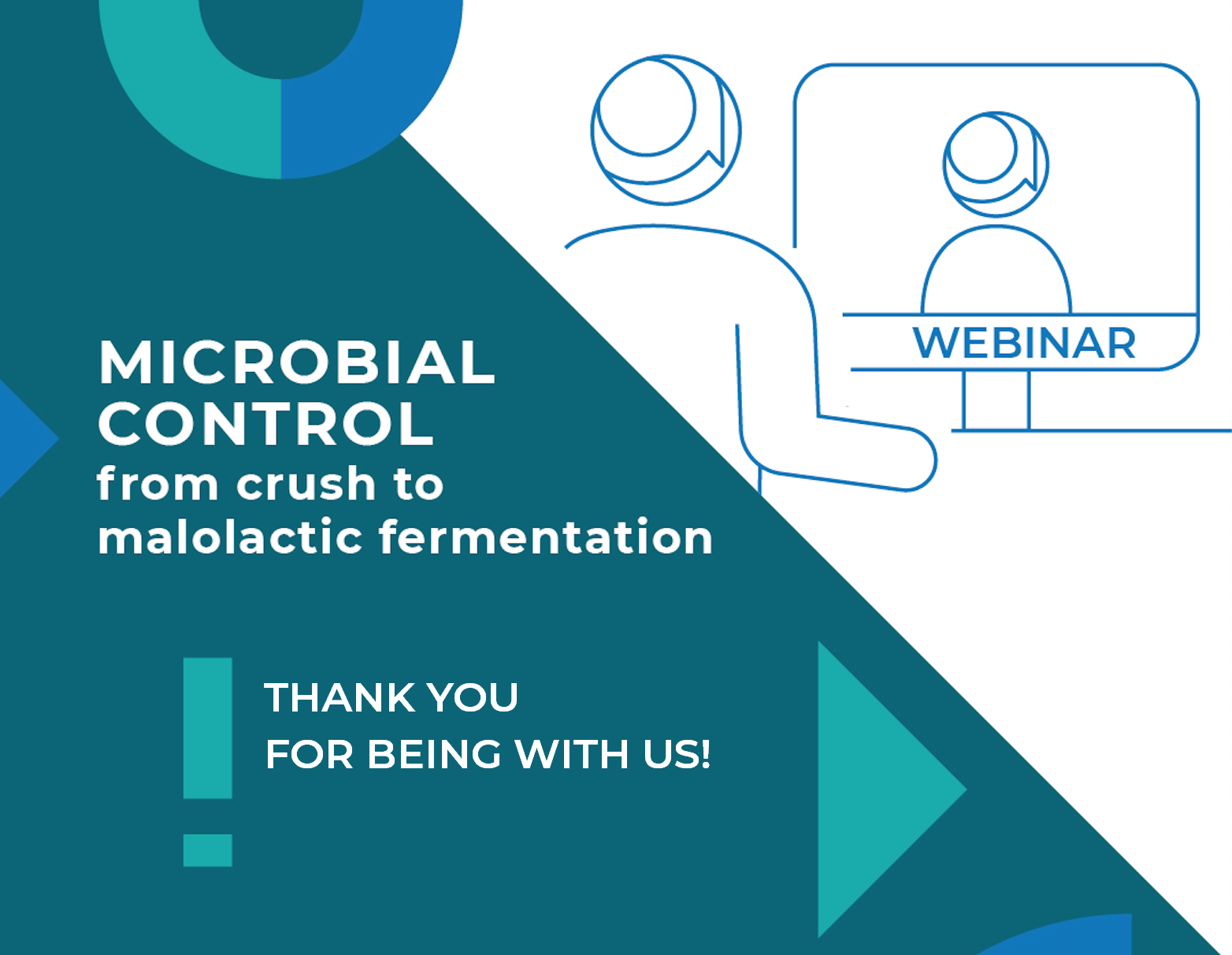 "Enartis Webinar ""Microbial Control from crush to malolactic fermentation"""