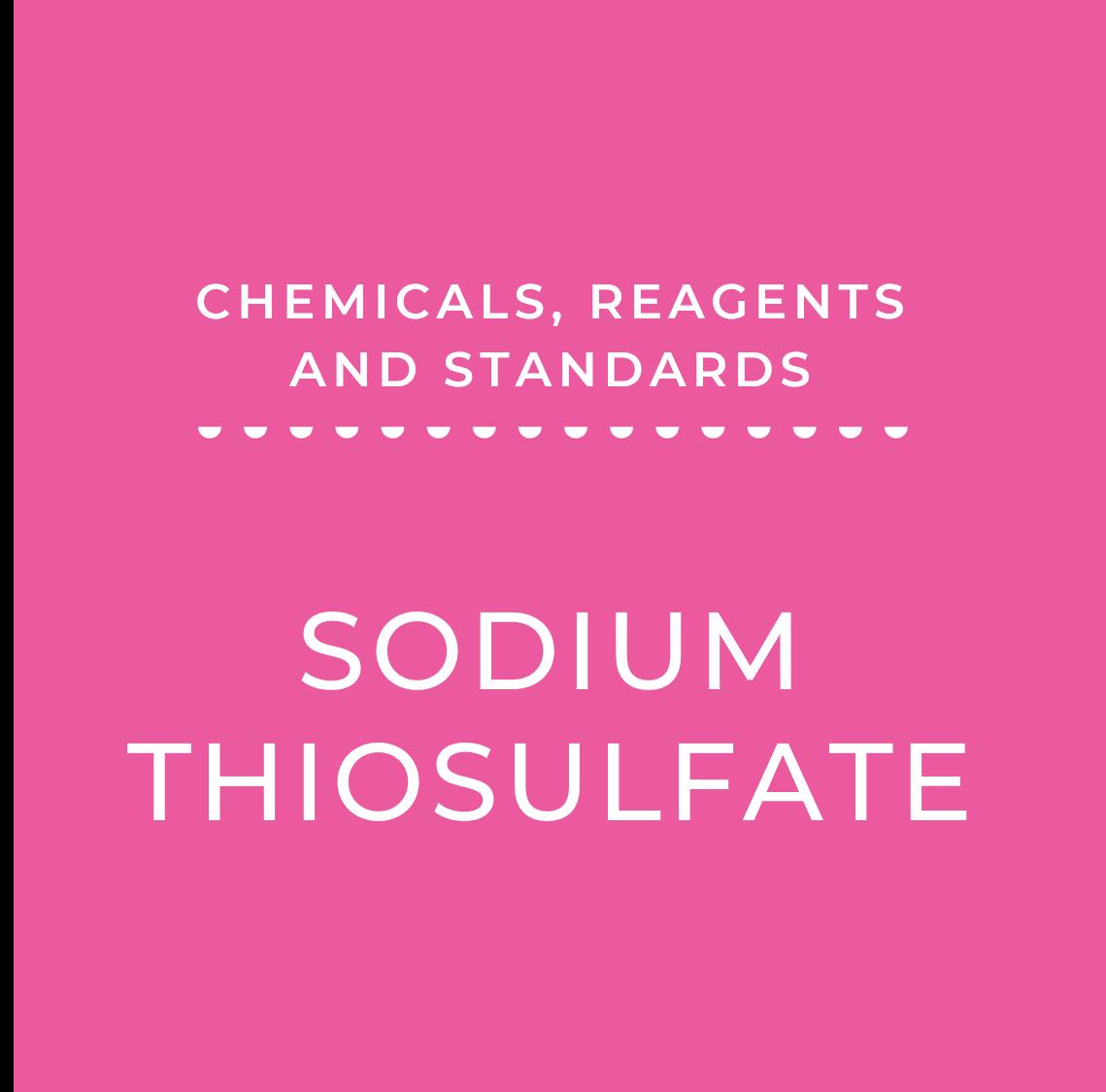 0.02 N Sodium Thiosulfate