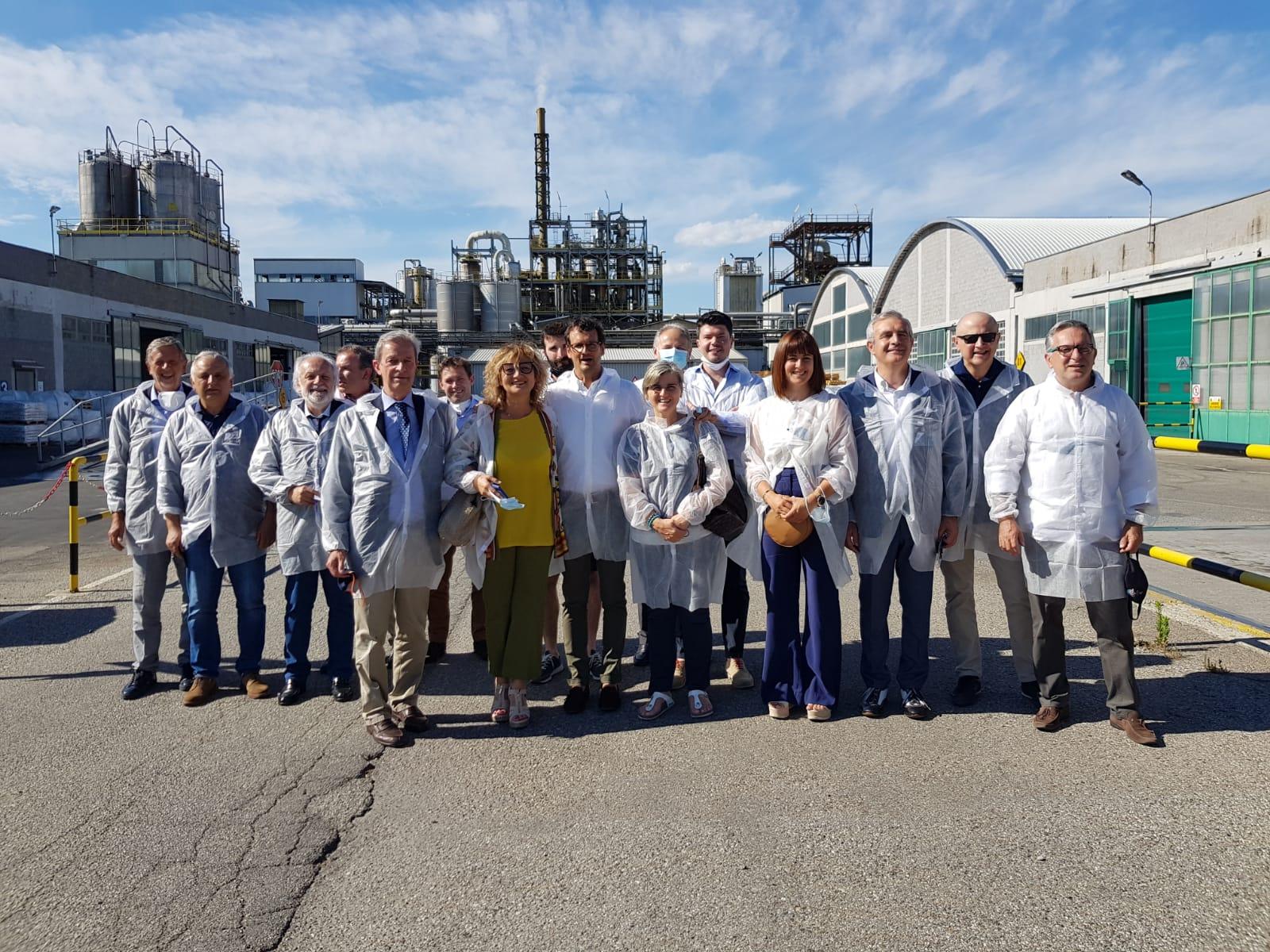 Visita del comitato di sezione Assoenologi Piemonte e Valle d'Aosta